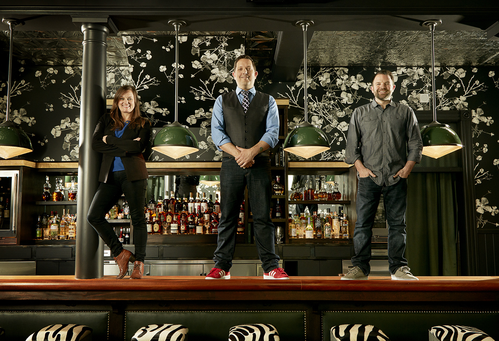 The Wildhawk bar team