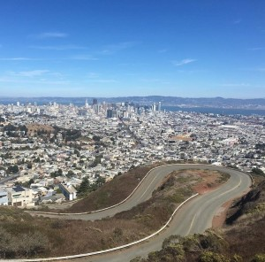 Views from San Francisco from twin-peaks